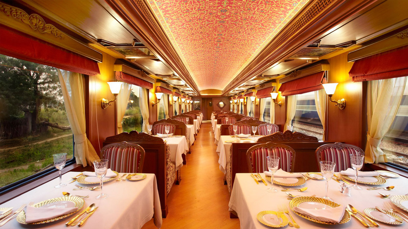Maharaja Express Luxury Train Journey