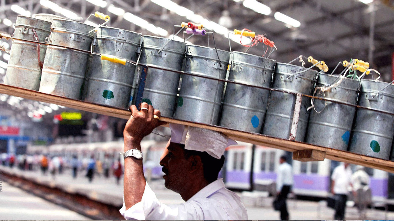Dabbawala local tour experience in Mumbai