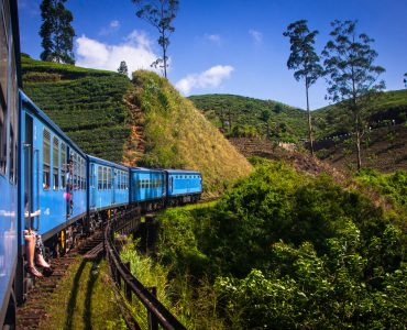TRAIN FROM KANDY TO THE HILL COUNTRY