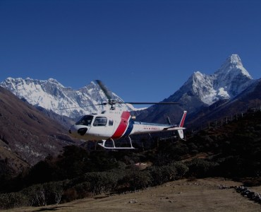 Luxury Heli-Hiking in Nepal